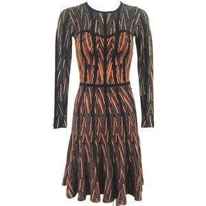 bcbgmaxazria sexy Flare knit dress